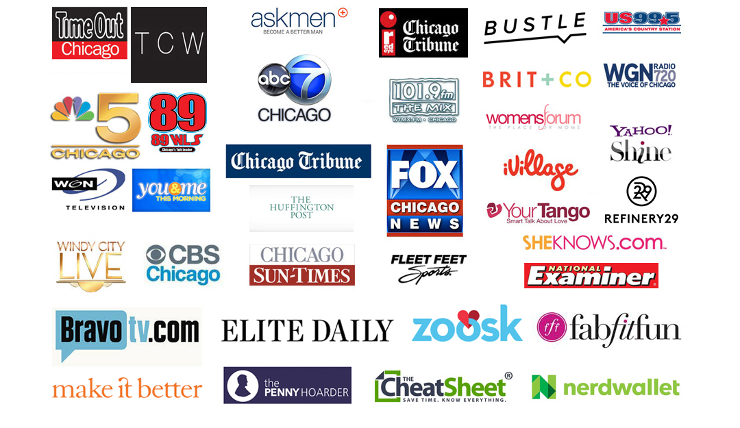 Stef and the City - Media Logos
